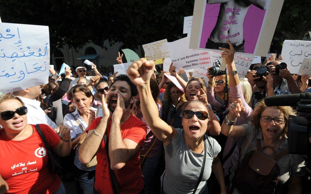معدل العنف ضد النساء في تونس تضاعف 7 مرات في ظل الحجر المنزلي