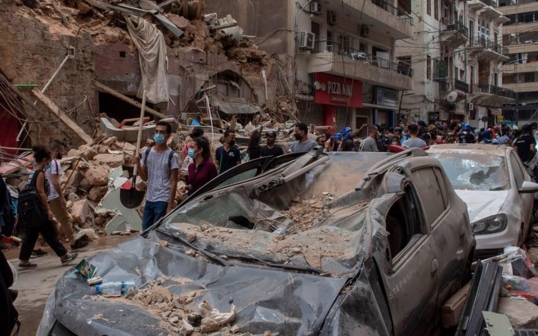 4600 امرأة حامل تشردن بعد انفجار بيروت