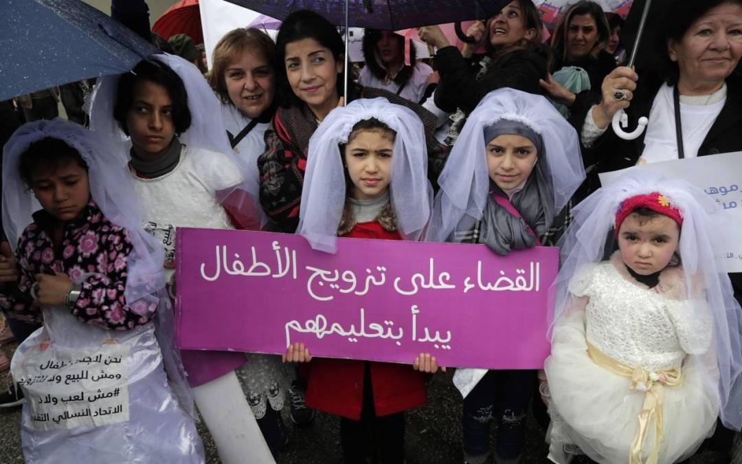 التجمع النسائي الديمقراطي اللبناني يستأنف حملة «مش قبل الـ18» لإنهاء تزويج الطفلات في لبنان