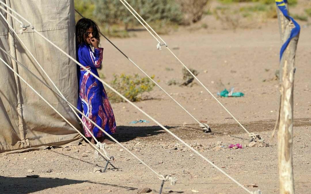 هذا ما كشفه التقرير الأممي حول معاناة النساء والأطفال في مخيمات اللجوء في اليمن