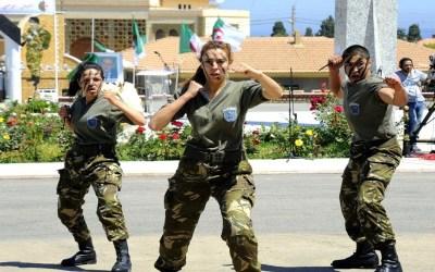 ثاني امرأة جزائرية تتلّقد رتبة عميد في المؤسسة العسكرية