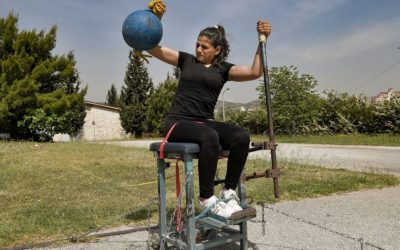 الشابة السورية علياء عيسى أوّل رياضية في فريق اللاجئين البارالمبي في طوكيو