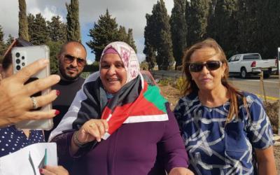 الأسيرة الفلسطينية المحررة نسرين أبو كميل.. إفراج مشروط