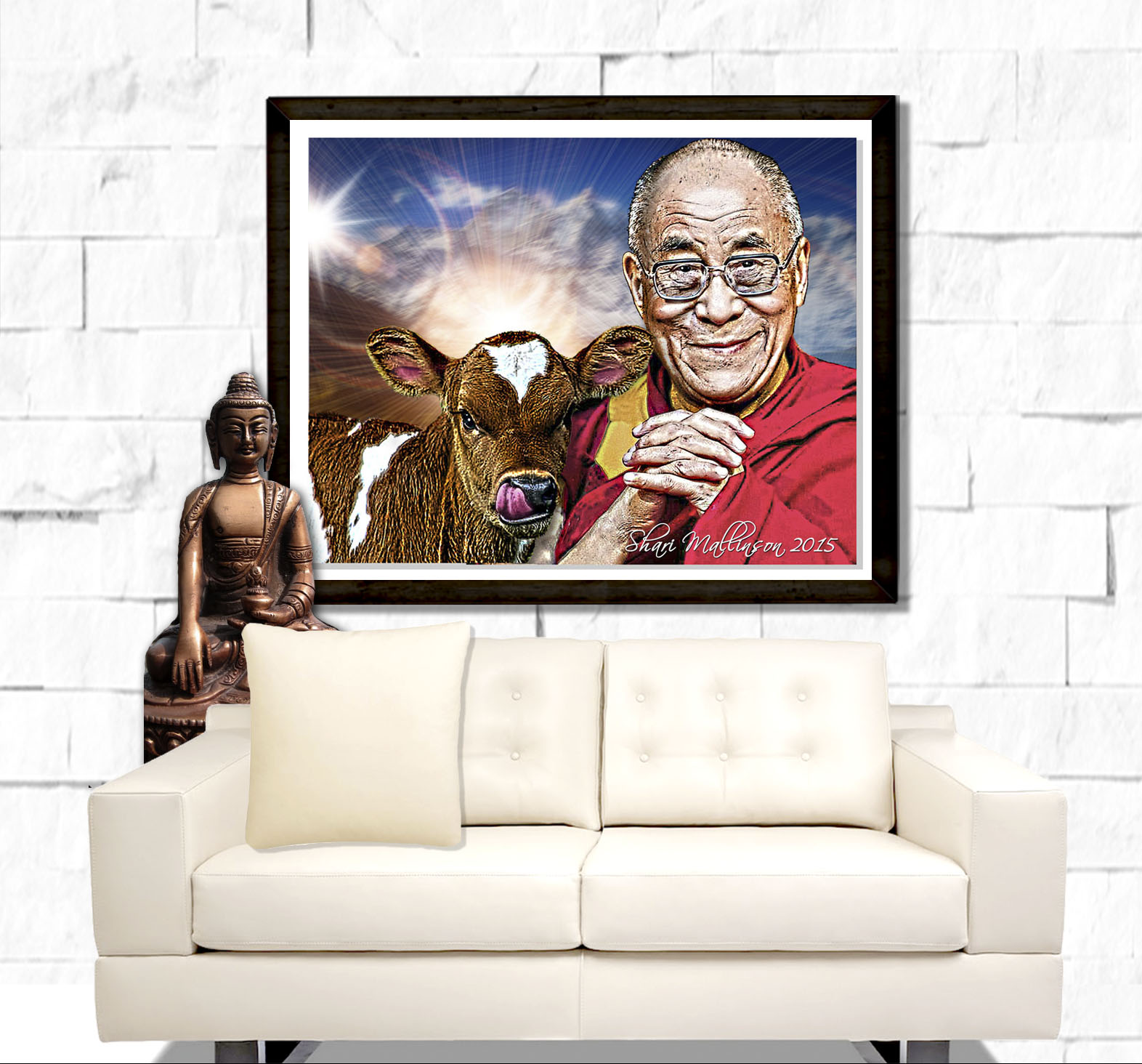 Dalai Llama Portrait