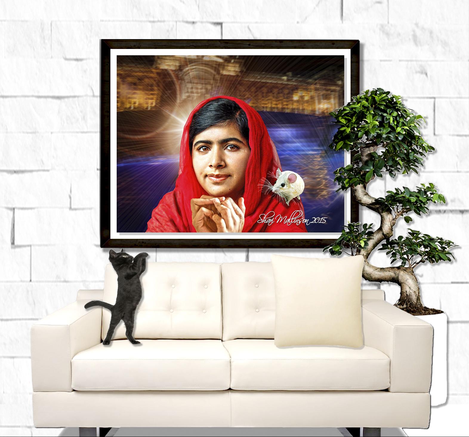 Malala Yousafzai Portrait