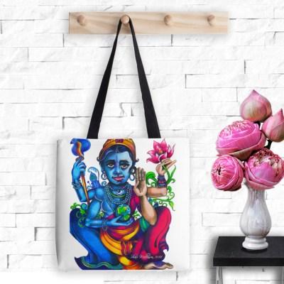 Vishnu, Tote Bag