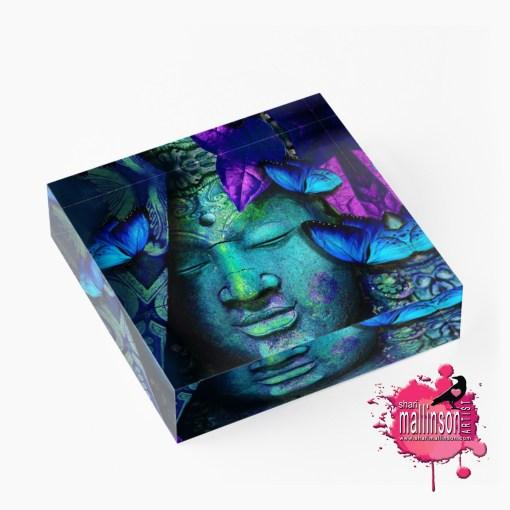 Buddha's Butterflies Art Prism