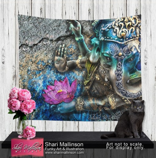 Water Ganesh, Tapestry