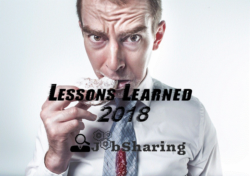 What are the lessons you have learned in 2018 ?