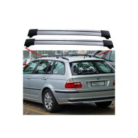 BMW 3 Series E46 From 04.98 Estate Aero Cross Bars Roof