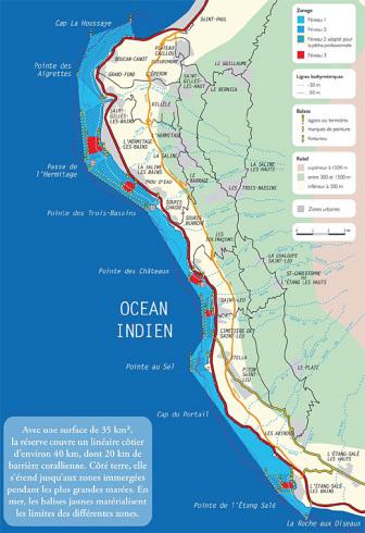 Réserve marine de La Réunion et facteur humain.