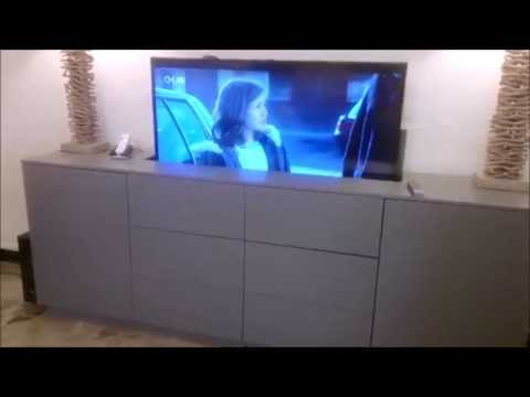 Meuble Tv Escamotable Mobilier Design Dcoration D