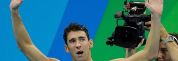 Gold medalist Michael Phelps to race Great White during Shark Week