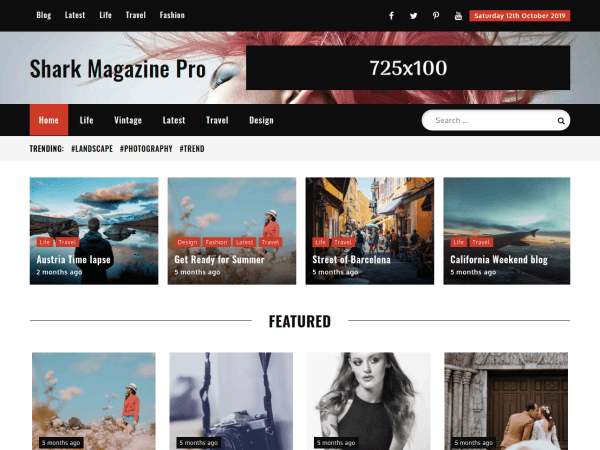 Shark Magazine Pro