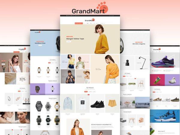 GrandMart Pro – Fine crafted e-commerce theme