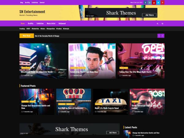 Shark News Entertainment