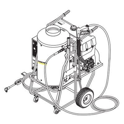 HPB-3530 Shark Karcher Group Electric Gas Hot Water
