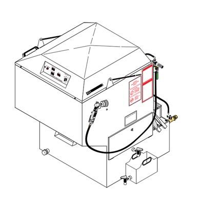SC-2412D Shark Karcher Group Electric Hot Water Pressure