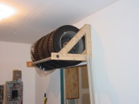DIY Tire Storage Rack