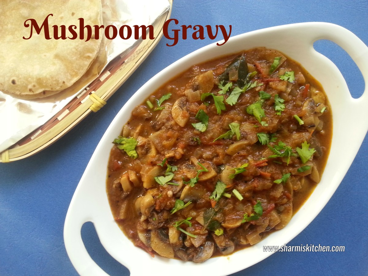 Mushroom Gravy | Kalan Curry Recipe