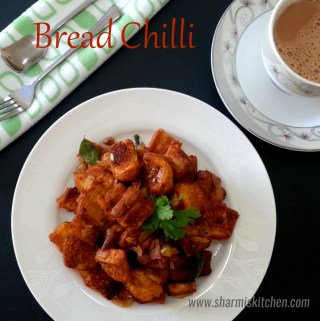 Bread Chilli | Bread Chilli Recipe using Sambar Powder