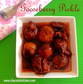 Gooseberry Pickle | Nellikkai Oorugai Recipe