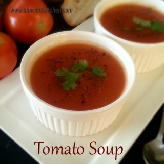 Tomato Soup Recipe | Easy Tomato Soup using Microwave