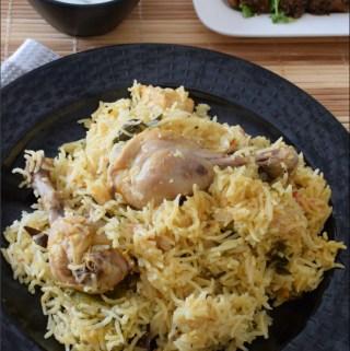 Chettinad Chicken Biryani | Chettinad Kozhi Biryani Recipe