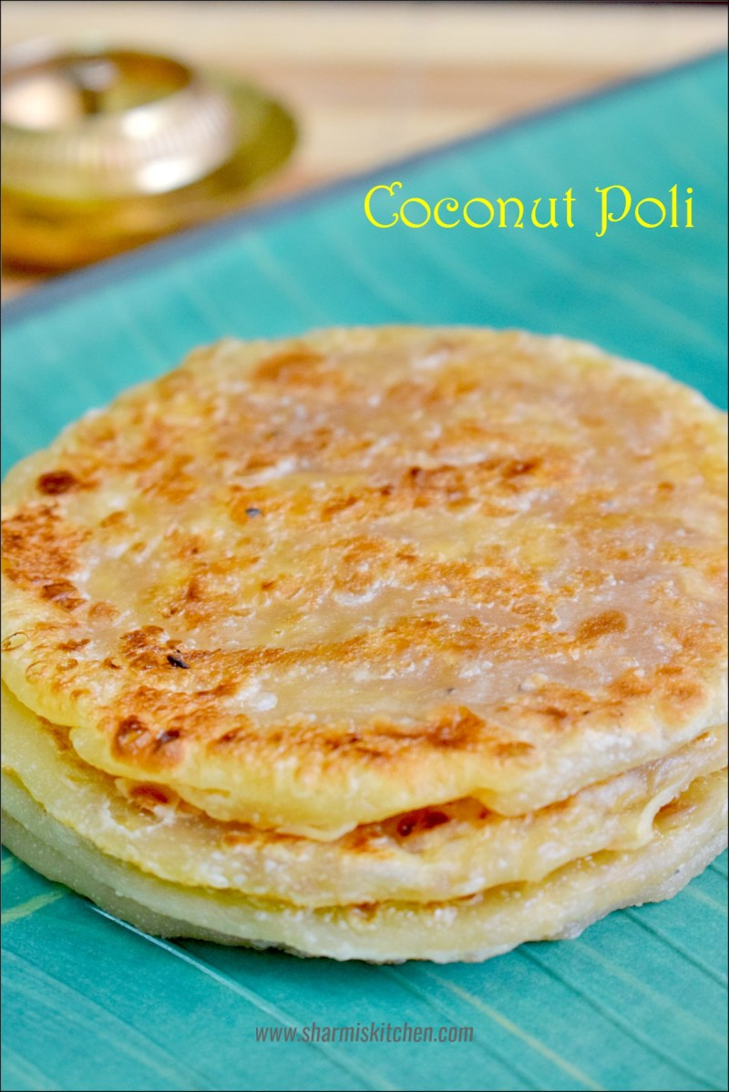 Coconut Poli | Thengai Poli Recipe