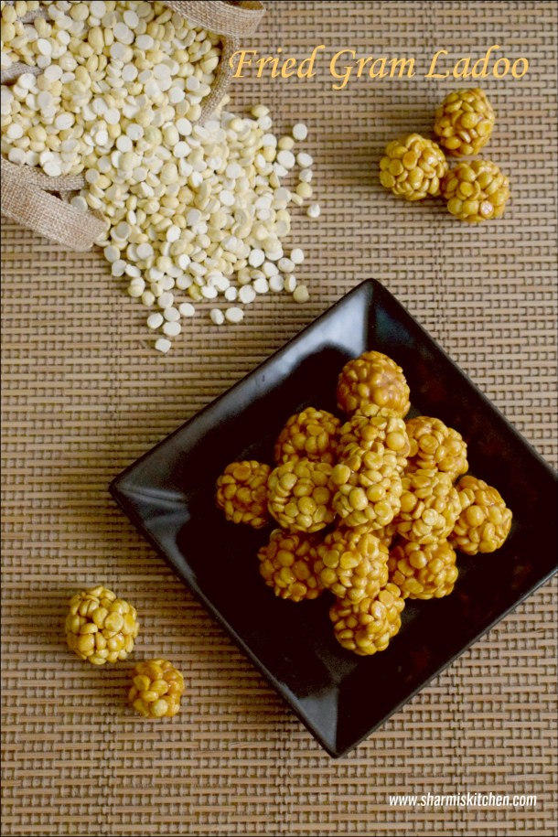Fried Gram Ladoo