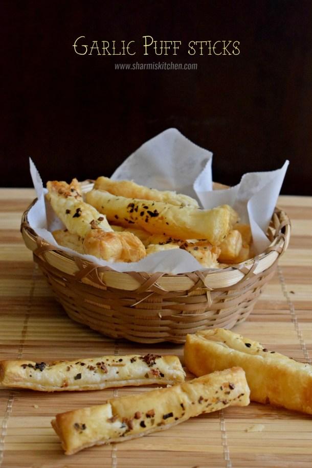 Garlic Puff Sticks