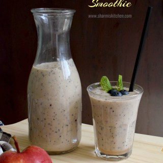 Apple Blueberry Smoothie Recipe