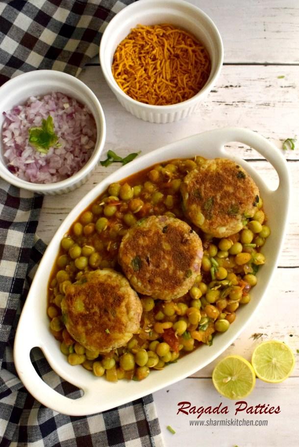 Ragada Patties Recipe | Chaat Recipe