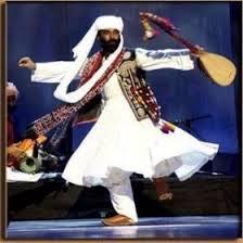 Baloch dancer.
