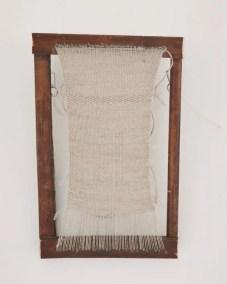 Sharon Adams Linen weaving 2018