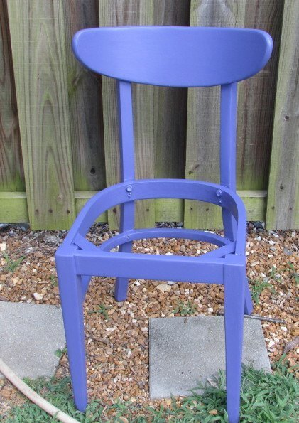 DIY ideas thrift store chair decor