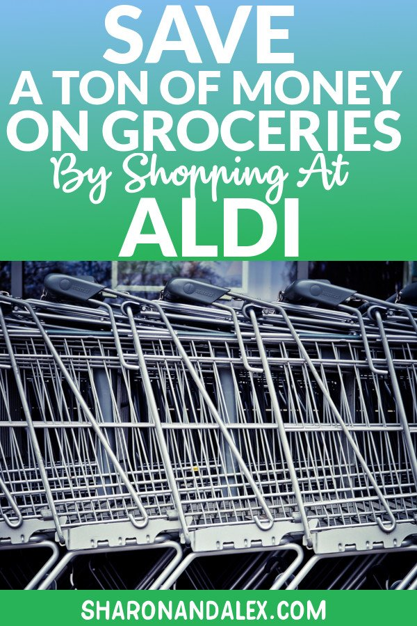 ALDI can't be beat on prices and they're working hard to get your business. Here's how you can save a lot of money groceries by shopping at ALDI. #ALDI #groceryshopping #frugalliving #savingmoney #budgeting