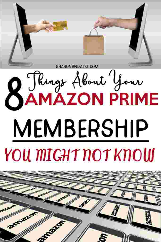 The free 2-day shipping that's a perk of the Amazon Prime Membership is great. But did you know there are a lot of other benefits you get as an Amazon Prime Member? Check out these 8 things you get with your Prime membership you probably don't know about. #amazonprime #primemembership #amazonprimebenefits #amazonprimeperks