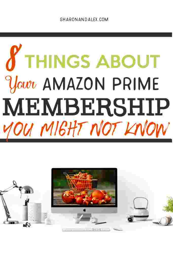 Are you getting the most out of your Amazon Prime membership?There are a bunch of free perks that come along with Amazon Prime. Here are 8 things about your Prime membership you might not know. #amazonprime #primemembership #amazonprimebenefits #amazonprimeperks