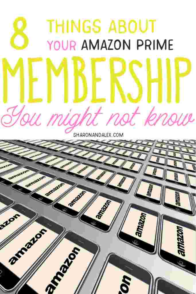 Are you getting the most out of your Amazon Prime Membership? Here are 8 benefits that are included with your Prime Membership you might not know about. #amazonprime #primemembership #amazonprimeperks
