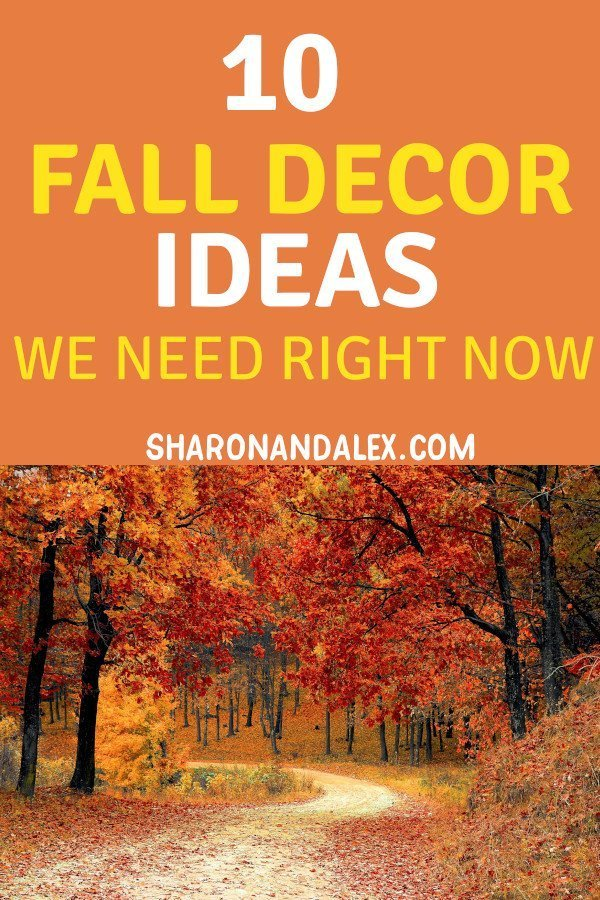 Summer is winding down and fall is just around the corner. Start thinking about welcoming fall with these oh so cute fall decor ideas! #fall #falldecor #homedecor #falldecorideas