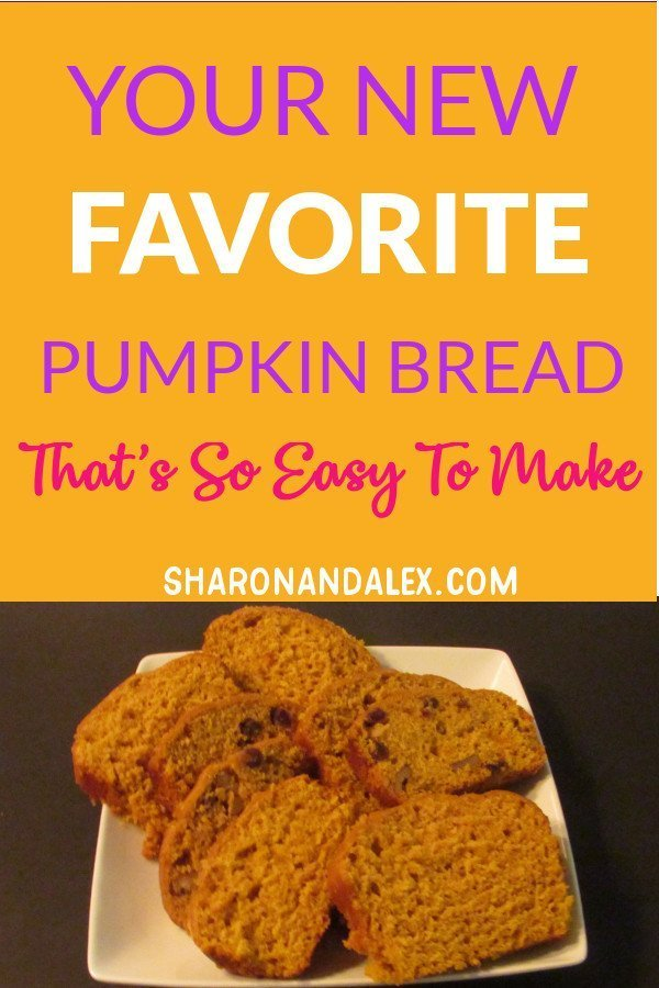 You have to try this pumpkin bread recipe. It's so easy to make you'll be baking some up again and again. #fallrecipes #pumpkinrecipes #pumpkinbread #fallfood