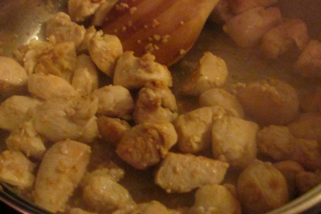 One-dish cheesy chicken penne