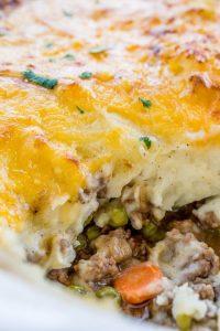 shepherd's pie, comfort food