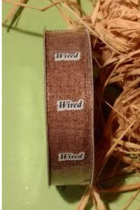Deco Mesh Wreath Wired Ribbon
