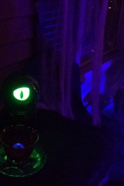 2017 halloween decorating eye