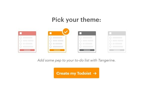 Todoist Setup Colors