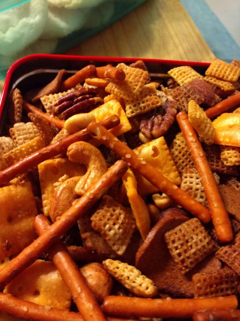 Christmas Cookies Chex Mix 2