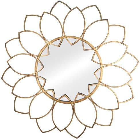 flower petal mirror