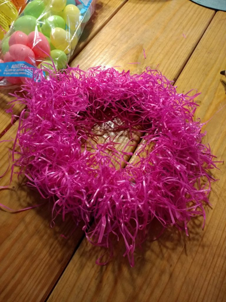 Cheap Easter wreath grass